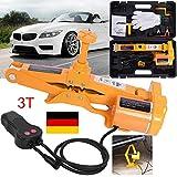 GOTOTOP 12V Elektrischer Wagenheber 3T Rangierwagenheber Scherenlift Heber für Auto KFZ