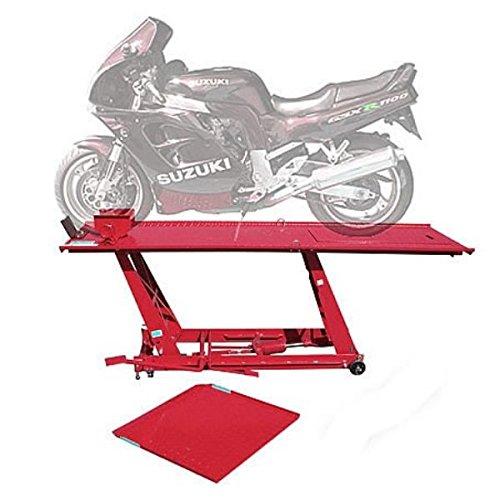 Dema 24359 Motorradhebebühne fahrbar 454 kg